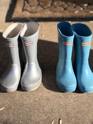 Hunter Boots Toddler Size 9 girls /8 boys/ 7 UK for Sale in Raleigh, NC