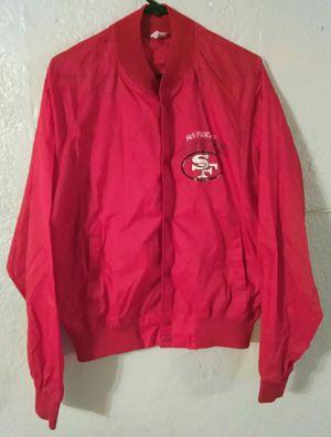 Chalk Line SF 49ers Windbreaker jacket for Sale in Modesto, CA