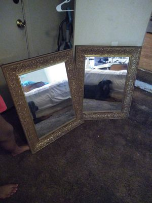 I have 1 beautiful matching wall hanging mirrors for Sale in Norman, OK