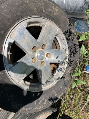 4 Jeep Tires/Wheels Courser HSX Mastercraft for Sale in Smyrna, TN