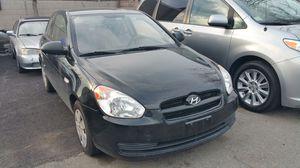 2008 HYUNDAI ACCENT BLACK for Sale in Revere, MA