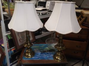 Pair of lamps 29.99 for Sale in Pinellas Park, FL