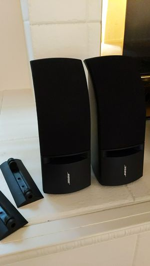Like new Bose 161 speakers with wall mounts for Sale in Woodinville, WA