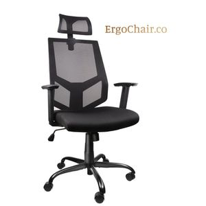 Wonderful Ergonomic Office Computer Mesh Chair with Adjustable Headrest/Neck Support for Sale in Kent, WA
