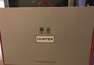 Brand new never used still in original packaging hunter boots for Sale in Severn, MD