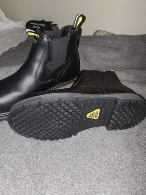 Size 10 Shoes for crew non slip safety top slip on boots for Sale in Norfolk, VA