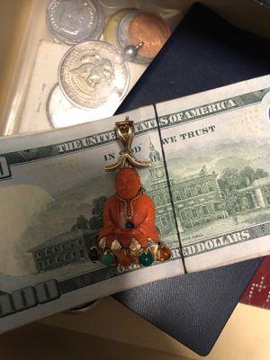 14k gold budda pendant for Sale in Sunrise, FL