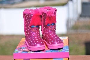 Trolls Poppy Toddlers Plush Boots for Sale in Stafford, VA