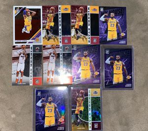 Lebron James Optic Lot of 10 for Sale in Santa Ana, CA