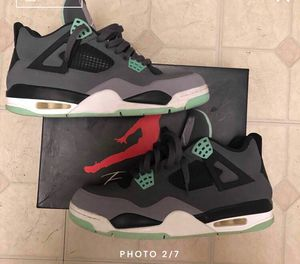 Jordan 4 green glow for Sale in Alexandria, VA