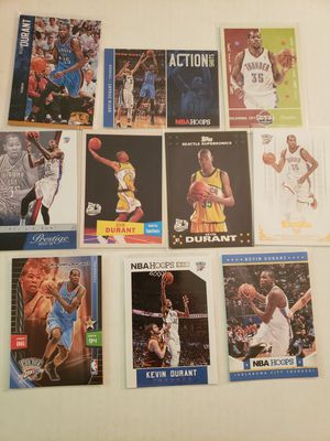 Kevin Durant Sonics Thunder NBA basketball cards for Sale in Gresham, OR