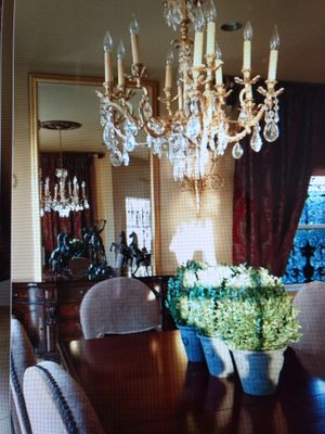 Antique Solid Brass Chandelier &more for Sale in West Palm Beach, FL