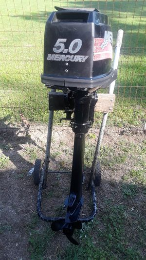 Mercury 5.0 outboard motor. Run good 475.00 for Sale in Selma, AL