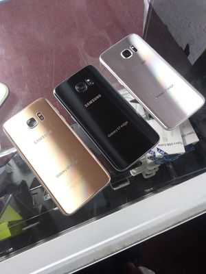 Unlocked Samsung Galaxy S7 Edge 32GB, Clean IMEI, Originally T-Mobile, 3 Colors, Excellent Conditions! We Unlock Phones! for Sale in Haines City, FL