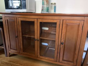 Tv stand solid wood for Sale in North Bergen, NJ