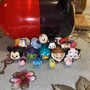 Tsum Tsum Mickey Mouse Storage Case / Tsum Tsum Collection Toys for Sale in Los Angeles, CA