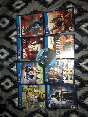 Ps4 Games all in working condition for Sale in Tempe, AZ