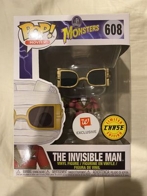 Funko POP Movies! Monsters The Invisible Man Chase Walgreens Exclusive for Sale in Carson, CA