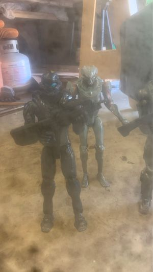 Halo action figures for Sale in Puyallup, WA