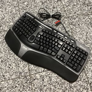 Korean English Microsoft Natural Ergonomic 4000 Wired Keyboard for Sale in New York, NY