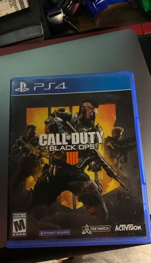 Call of Duty-Black Ops 4 for Sale in Long Beach, CA