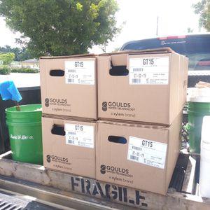 Goulds Gt15 Water Pump, 1.5 Hp, 115/230v, 1 Ph, 1-1/2 Inlet/outlet | New Sprinkler pump for Sale in Pembroke Pines, FL