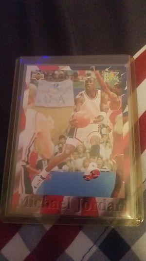 1996 Michael Jordan Basketball Card (ball park, upper deck) for Sale in Queen Creek, AZ