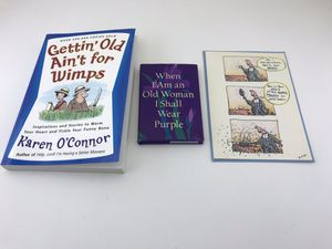 2 Cute New Books and a New Humorous Card on Aging for Sale in Bergenfield, NJ