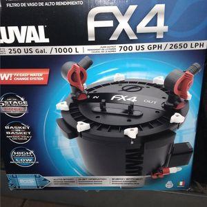 Aquarium Canister Filter Fluval Fx4 for Sale in Phoenix, AZ