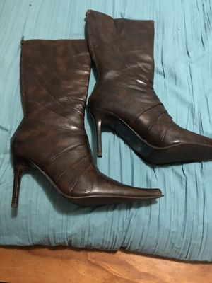 Aldo Dark Cafe Size 7.5 Mid Rise Boots for Sale in Gastonia, NC