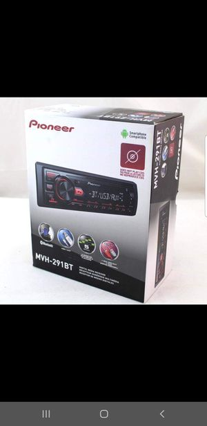 Pioneer car stereo Bluetooth usb aux for Sale in Chula Vista, CA