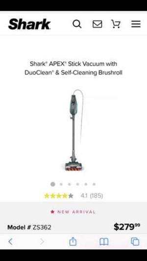 Shark vacuum (new in box) for Sale in Wake Forest, NC