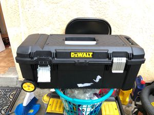 (2) Brand new Dewalt tool boxes with tools ( Deal) for Sale in Artesia, CA