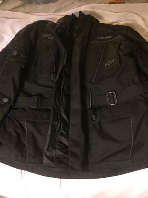Brand new hit air motorcycle safety jacket with 3 air canisters for Sale in Alexandria, VA
