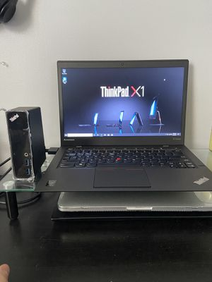 Lenovo x1 carbon - with 200$ docking station for Sale in Plainfield, NJ