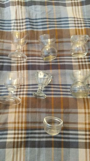 Antique eye glass cups 7 for Sale in Los Angeles, CA