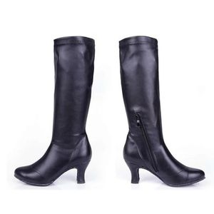 Women's Black Latin Dance Boots size 7.5 for Sale in Oxnard, CA
