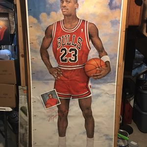 Michael Jordan Poster Vintage New Old Stock Like New for Sale in Plainfield, IL