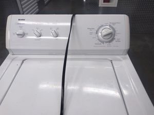 Kenmore heavy duty washer 90 day warranty free delivery works good call Mark {contact info removed} get it today for Sale in Washington, DC