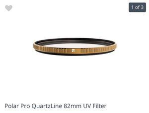 Polar pro QuartzLine 82mm UV Filter for Sale in Santa Ana, CA