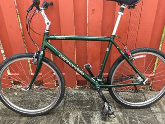 """Cannondale CAA2 mtb bike bicycle, condition 9/10, size 23"""" for Sale in Portland,  OR"""