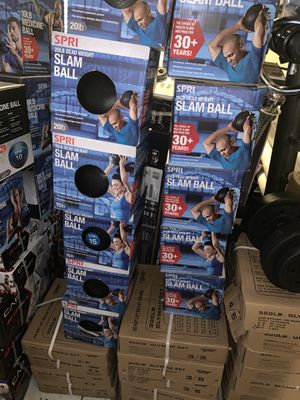 15 lb slam balls for Sale in Davie, FL