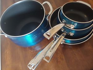 Belgique Aluminum Cookware Set Sapphire for Sale in Pembroke Pines, FL