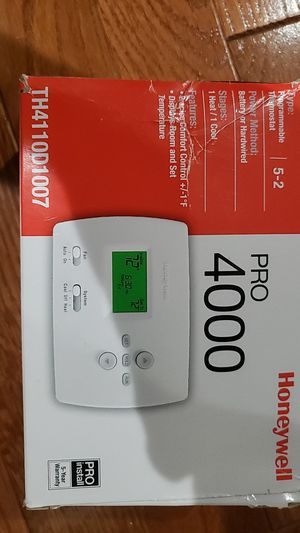 TWO Honeywell Programmable thermostat for Sale in Hopkinton, MA
