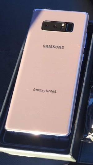 Samsung galaxy note 8- factory unlocked with accessories for Sale in Springfield, VA