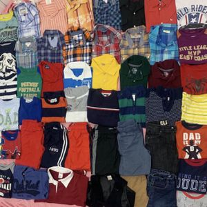 Toddler BOYS 4T, 5-6yrs old 24pcs X $5 EACH FOR PICKUP ONLY Thursday Friday Saturday Sunday Monday 3-6pm for Sale in Los Altos, CA