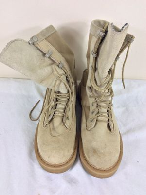 Military Rocky 790G Goretex Women's Combat Boots Vibram Sole Tan 4.5 R for Sale in Severn, MD