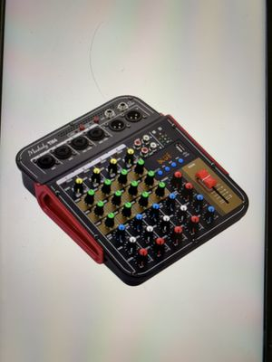 Mixer audio 4 ch usb for Sale in Naples, FL