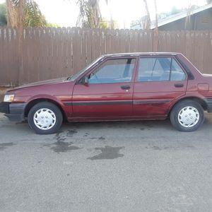 87 Toyota Carolla for Sale in Wildomar, CA