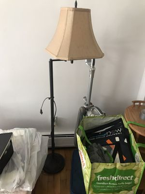 lamp with new shade for Sale in Jersey City, NJ